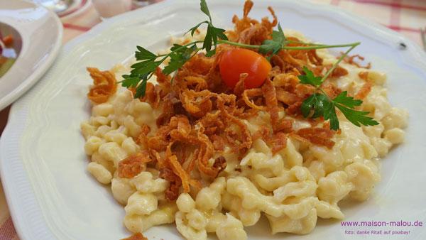 Soulfood Kässpätzle…. aber bitte frisch & selbstgemacht