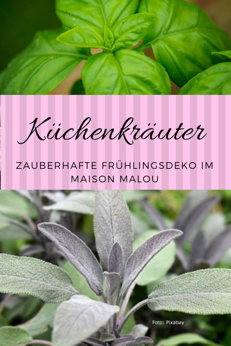 Küchenkräuter zaubern Frühlingsatmosphäre