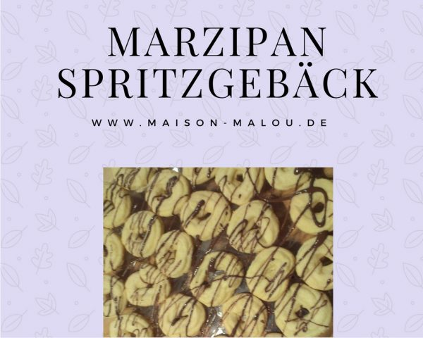 Marzipan Spritzgebäck – klassisches Teegebäck