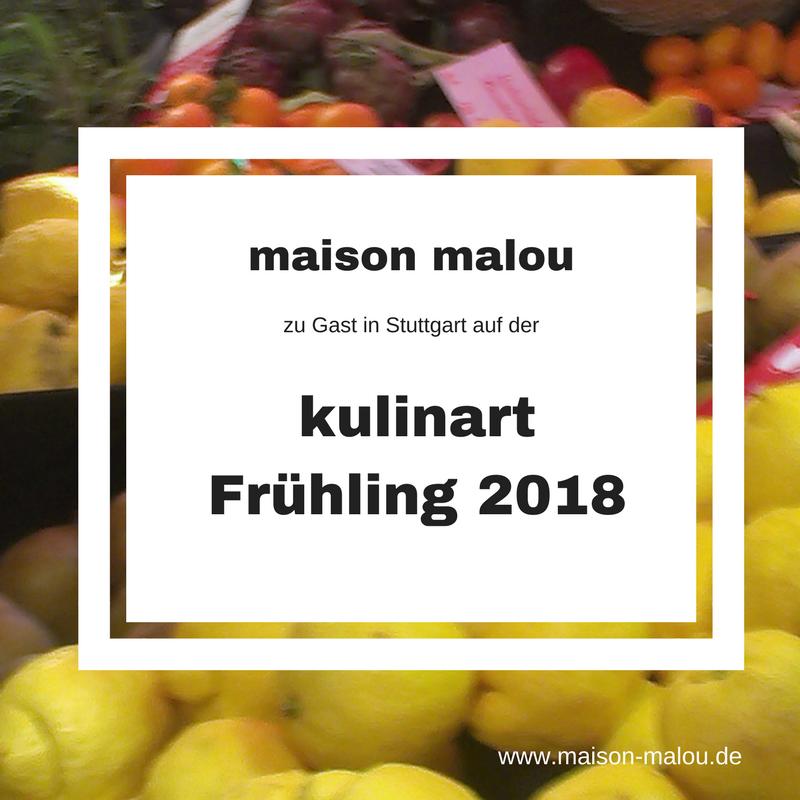 kulinart Frühling 2018  – Stuttgart genießt